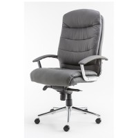 Alphason Empire Leather Executive Office Chair AOC8218GRY