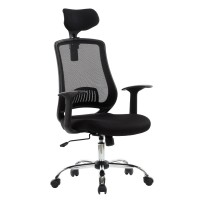Mesh Office Chairs - Alphason Florida Executive High Back AOC4125BLK