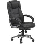 Alphason Northland AOC6332-L High Back Leather Faced Executive Chair