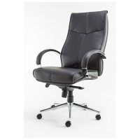 Alphason Verona Leather Executive Office Chair AOC1019BLK