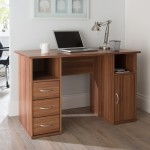 Alphason Maryland AW12010WAL Walnut Computer Desk