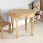 Childrens Play Table Baumhaus Amelie Childrens Oak CCO04A