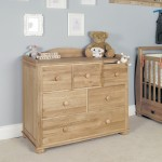 Chest of Drawers / Baby Changing Station Amelie Childrens Oak CCO12A