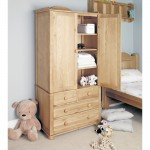Double Wardrobe Baumhaus Amelie Childrens Oak CCO13A