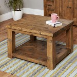 Coffee Table Baumhaus Heyford Rough Sawn Oak CRS08C