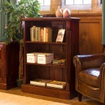 Low Bookcase Baumhaus La Roque Mahogany Bookcase IMR01B
