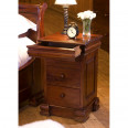 Lamp Table with 4 Drawers Baumhaus La Roque Mahogany IMR10A