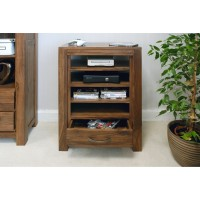 Baumhaus Mayan Solid Walnut Entertainment Unit CWC09C