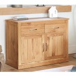 Baumhaus Mobel Solid Oak Small Sideboard COR02D