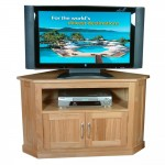 TV Cabinet Oak Mobel Corner TV Unit COR09C by Baumhaus