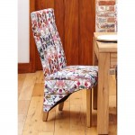 Dining Chair - Pair of Baumhaus Modena Fabric Dining Chairs COR03H