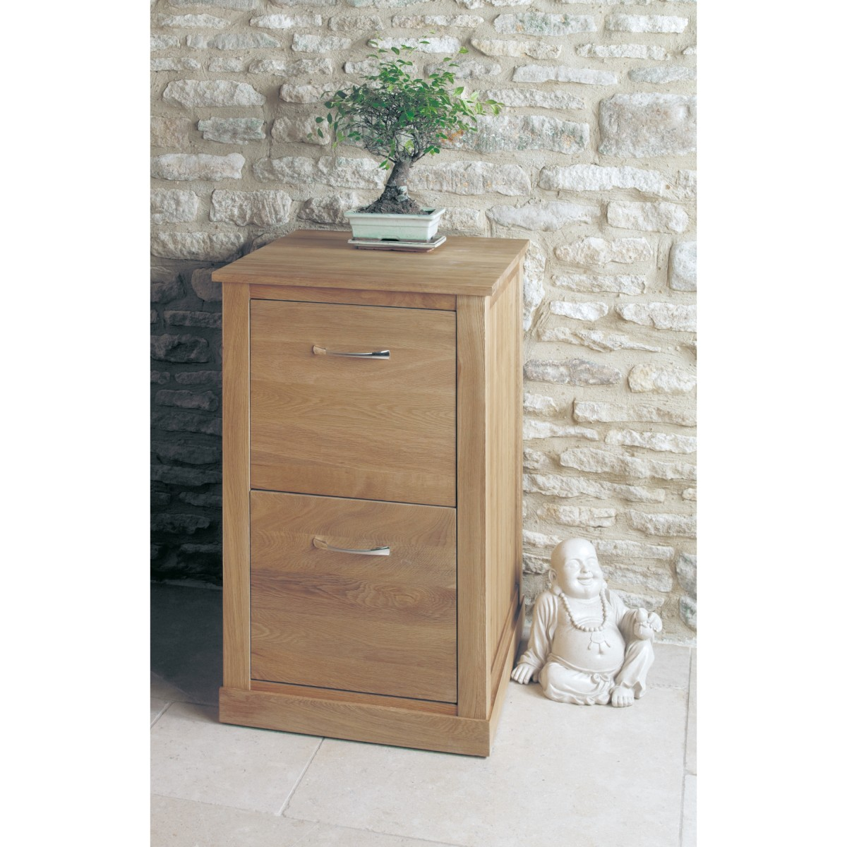 baumhaus mobel solid oak 2 drawer filing cabinet cor07a baumhaus mobel solid oak