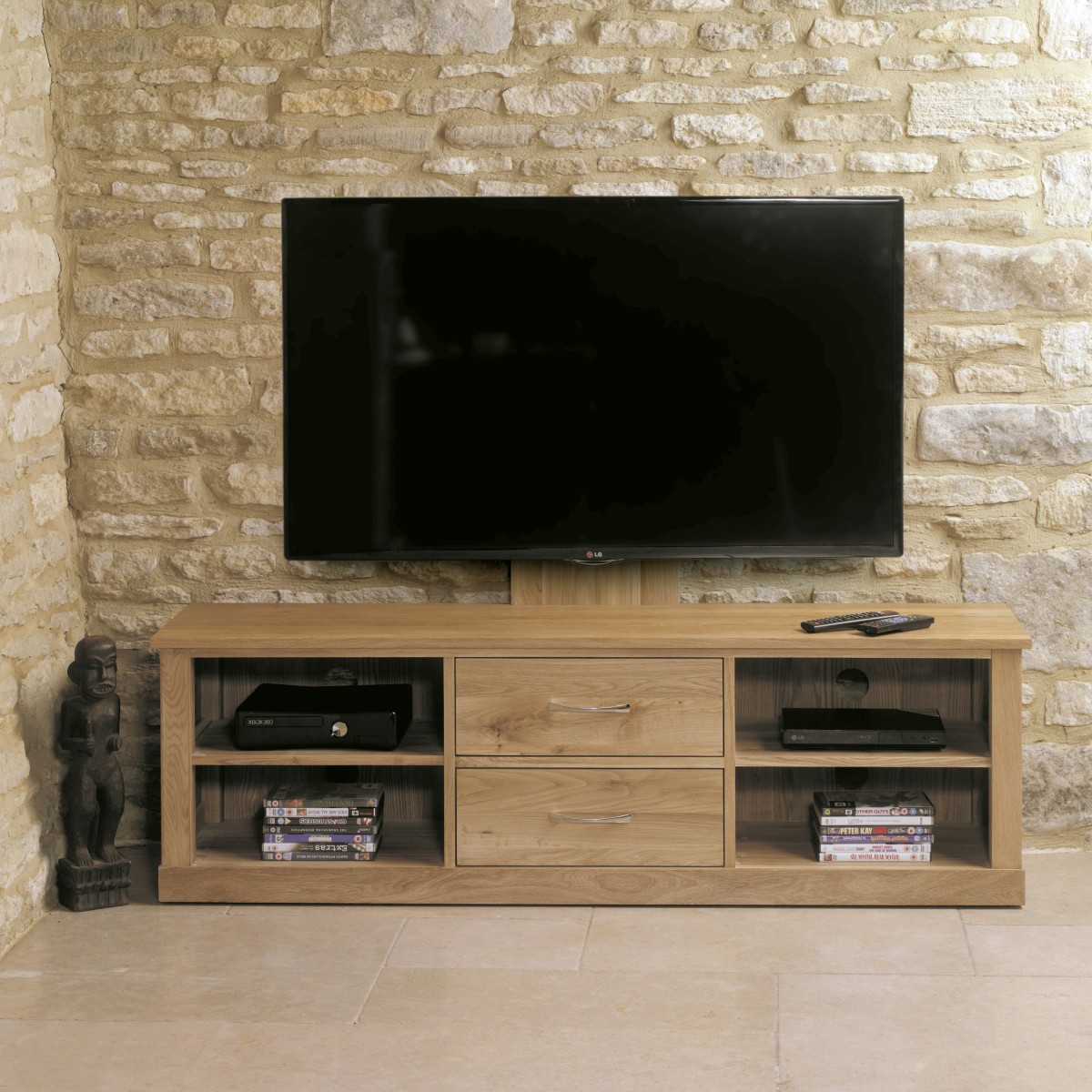baumhaus mobel solid oak mounted widescreen baumhaus mobel solid oak mounted widescreen tv cabinet cor09e aston solid oak wall mirror