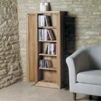 Baumhaus Mobel Solid Oak DVD Storage Cupboard COR17B