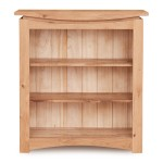 Bookcases - Roscoe Oak Small Bookcase CNS01C by Baumhaus