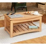 Coffee Tables - Roscoe Oak Coffee Table CNS08A by Baumhaus