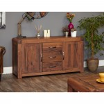 Baumhaus Shiro Walnut Large Sideboard CDR02A