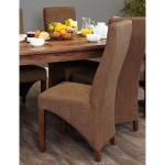 Dining Chair - Pair of Baumhaus Hazelnut Dining ChairsCDR03C