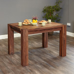 Small Dining Table 4 Seater Baumhaus Shiro Walnut CDR04A