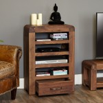 Entertainment Unit Baumhaus Shiro Walnut CDR09C