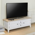 TV Stands - Signature Grey TV Stand CFF09A by Baumhaus