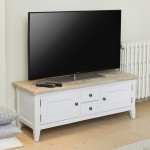 TV Cabinet Grey Painted Signature TV Stand CFF09A by Baumhaus