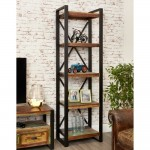 Bookcases - Urban Chic Narrow Bookcase IRF01A by Baumhaus