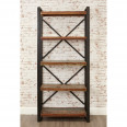 Bookcases - Urban Chic Large Bookcase IRF01B by Baumhaus