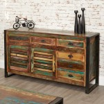 Sideboards - Urban Chic Large Sideboard IRF02C by Baumhaus