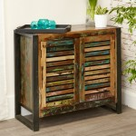 Sideboards - Urban Chic Small Sideboard 2 Door IRF02D by Baumhaus