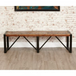 Dining Chair - Urban Chic Large Dining Bench IRF03B by Baumhaus