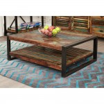 Coffee Tables - Urban Chic Rectangular Coffee Table IRF08D by Baumhaus