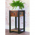Side Table - Urban Chic Lamp Table Plant Stand IRF10C by Baumhaus