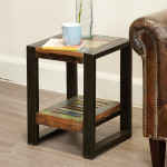 Side Table - Urban Chic Low Lamp Table Plant Stand IRF10E by Baumhaus