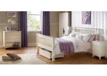 Cameo White Bedroom Furniture Set