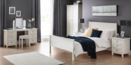 Maine White Bedroom Furniture Set