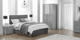 Monaco Grey Bedroom Furniture Set (7)