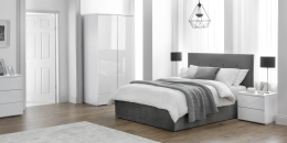 Monaco White Bedroom Furniture Set (7)