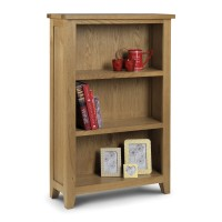 Julian Bowen Astoria Low Bookcase AST006
