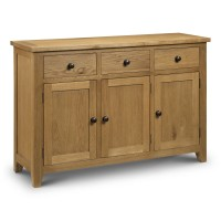 Julian Bowen Astoria Oak Sideboard AST009