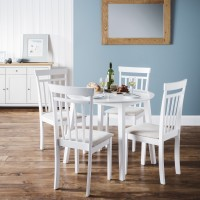 Julian Bowen Coast Drop Leaf Dining Table with 2 Chairs
