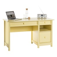 Teknik Computer Desk Sherbet Yellow 5414693