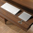 Home Office Desks - Clifton Place Executive Walnut Office Desk 5421113