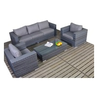Port Royal Platinum Large Sofa Set WGF-506