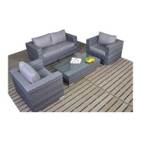 Port Royal Platinum Small Sofa Set WGF-505