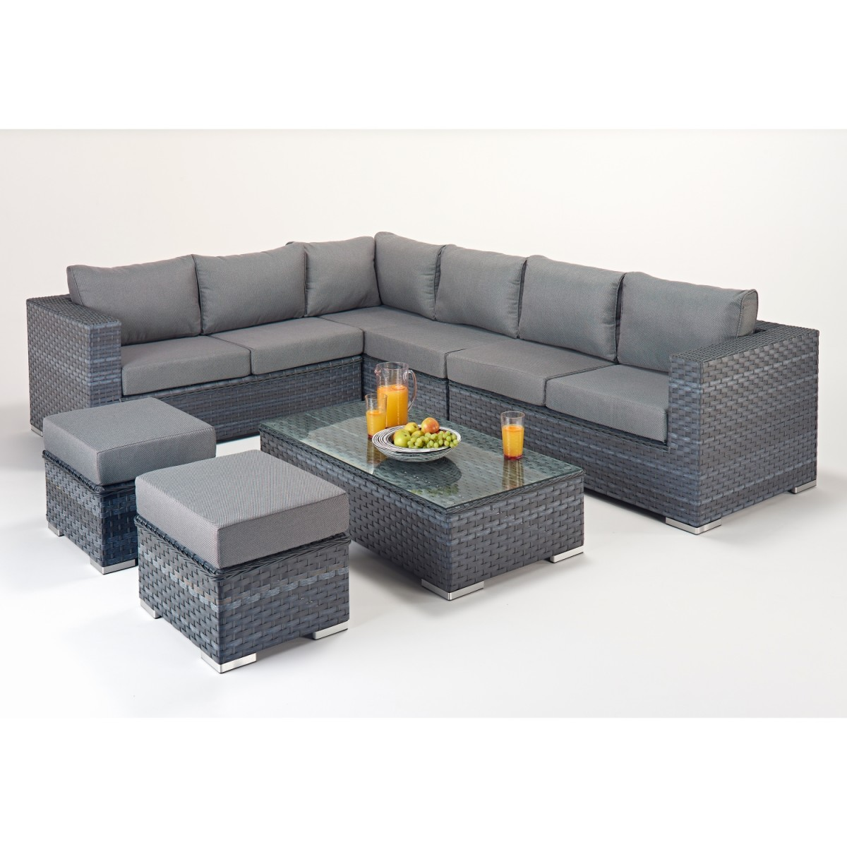 rattan set platinum large corner sofa set wgf 502 left hand. Black Bedroom Furniture Sets. Home Design Ideas