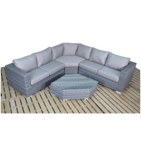 Port Royal Platinum Angle Corner Sofa WGF-503
