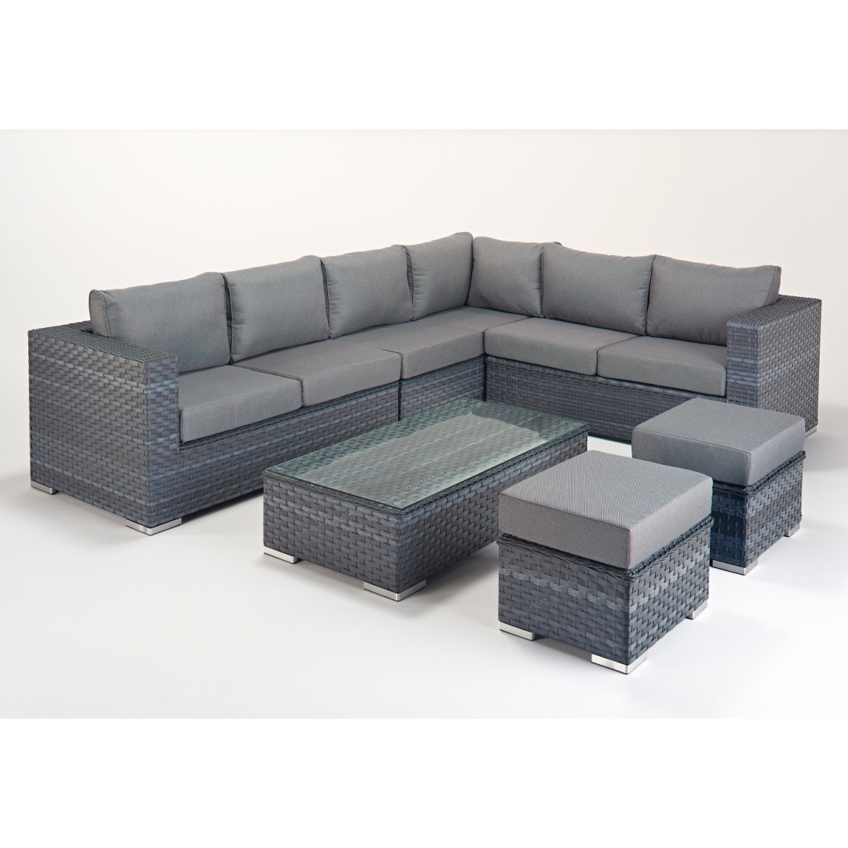 rattan set platinum large corner sofa set wgf 510 right hand. Black Bedroom Furniture Sets. Home Design Ideas