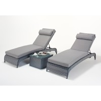 Port Royal Platinum Lounger Pair WGF-516