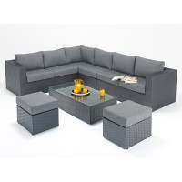 Rattan Set - Prestige Large Corner Sofa Set WGF-302 - Left Hand